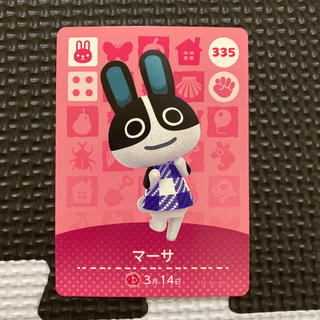 Nintendo Switch - どうぶつの森 amiiboカード マーサ