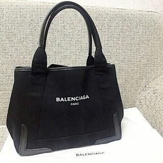 Balenciaga - BALENCIAGA★バレンシアガ ★ネイビー カバス /S サイズ 黒