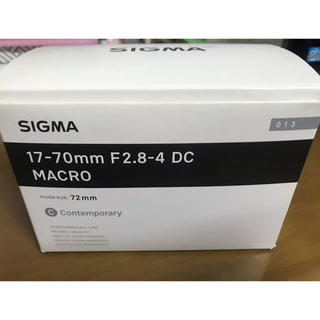 SIGMA - SIGMA Contemporary 17-70mm F2.8-4  ニコン用