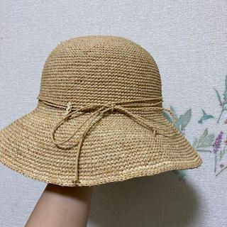 ムジルシリョウヒン(MUJI (無印良品))の無印良品 キャペリン ストローハット(麦わら帽子/ストローハット)