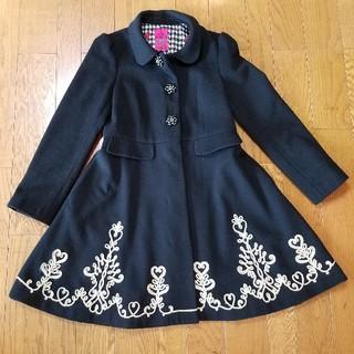 ドーリーガールバイアナスイ(DOLLY GIRL BY ANNA SUI)のドーリーガールバイアナスイ Aライン 刺繍 ANNASUI(ロングコート)