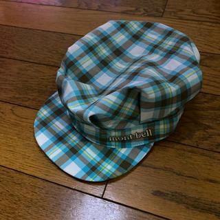 モンベル(mont bell)のモンベル帽子 チェック柄帽子 新品未使用(帽子)