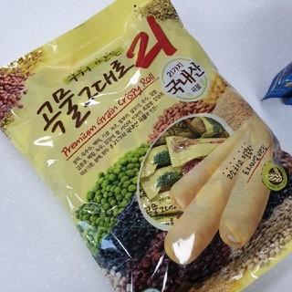 韓国 곡물그대로21穀物そのまま21 10本クリスピーロール