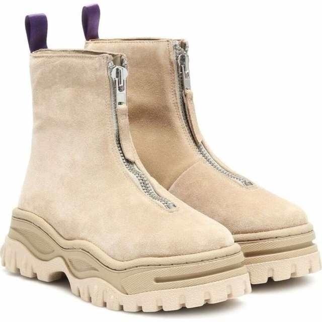 【新品】EYTYS RAVEN SUEDE BOOTS BEIGE 41 メンズの靴/シューズ(ブーツ)の商品写真