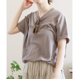 IENA - イエナ♡FORMIDABLEロゴプリントTシャツ
