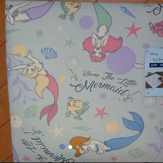 ディズニー(Disney)の1点限り 夏用 ディズニー アリエル センターラグ カーペット 正方形 2畳用(ラグ)