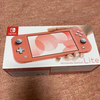 Nintendo Switch - nintendo  switch lite コーラル ピンク 新品未使用