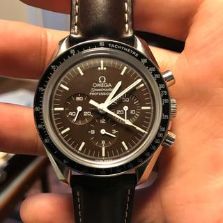 オメガ(OMEGA)のオメガ スピードマスター プロフェッショナル 50周年モデル ブラウン(腕時計(アナログ))