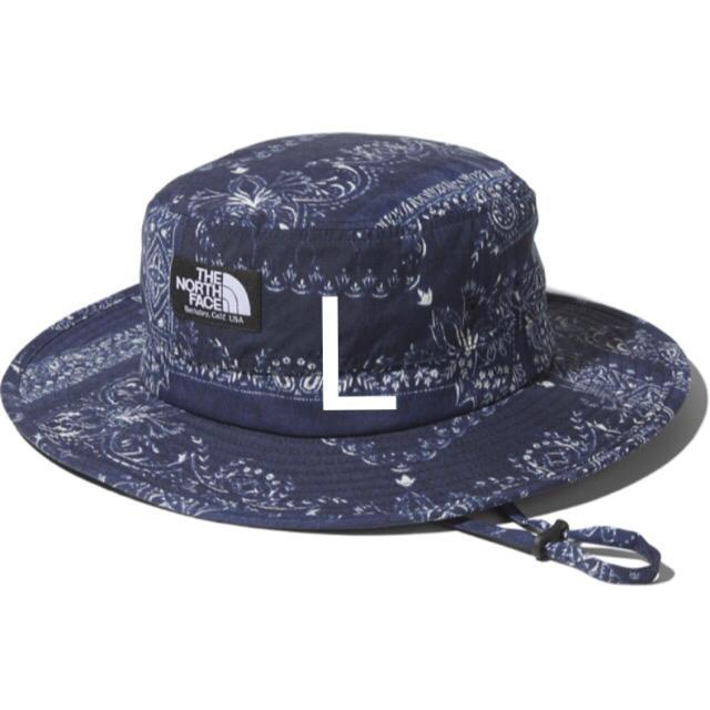 THE NORTH FACE(ザノースフェイス)のノースフェイス ホライズンハット Lサイズ バンダナリニューアルブルー 正規品 メンズの帽子(ハット)の商品写真
