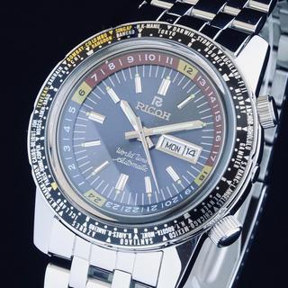 ◆美品◆ RICOH リコー WORLD TIMER ワールドタイマー 70s