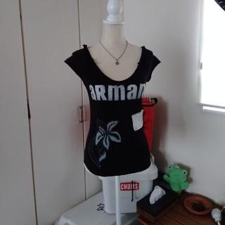 アルマーニ(Armani)のARMANI カットソー(Tシャツ(半袖/袖なし))