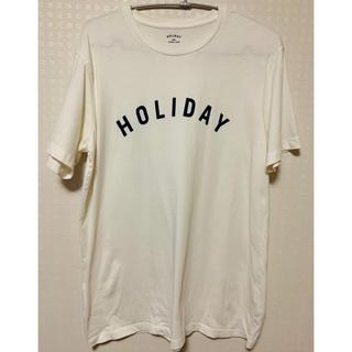 DEUXIEME CLASSE - ドゥーズィエムクラス HOLIDAY Tシャツ