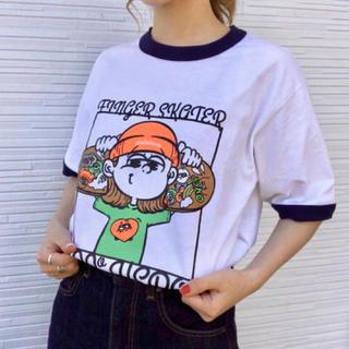 over pirakohouse zero zero hero Tシャツ古塔つみ(Tシャツ/カットソー(半袖/袖なし))