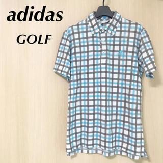 アディダス(adidas)のadidas アディダス ゴルフ M 半袖 ポロシャツ メンズ トップス(ウエア)