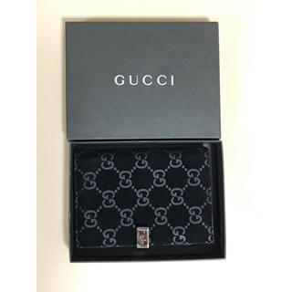 グッチ(Gucci)のGUCCI 手帳ケース ブラック 黒 ロゴ (手帳)