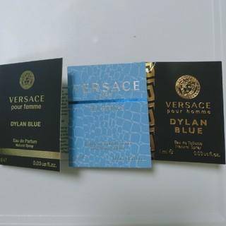 ヴェルサーチ(VERSACE)の【108】ヴェルサーチ香水サンプル3点セット(ユニセックス)