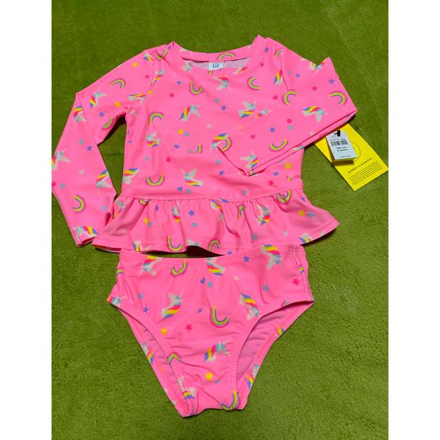 babyGAP(ベビーギャップ)の水着100 新品 キッズ/ベビー/マタニティのキッズ服女の子用(90cm~)(水着)の商品写真