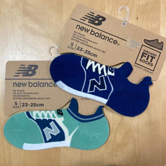 New Balance(ニューバランス)のnew balance レディース ソックス  靴下 2足セット D レディースのレッグウェア(ソックス)の商品写真