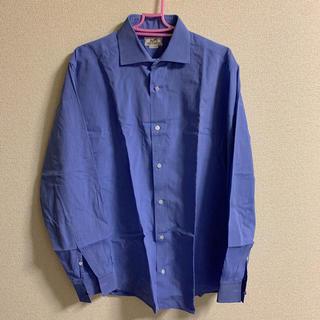 Hermes - HERMES エルメス カラーワイシャツ 42-16.5 コットン100%