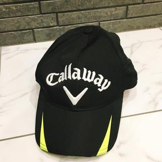 キャロウェイ(Callaway)のお値下げ♡ キャロウェイ キャップ ブラック フリーサイズ ユニセックス(キャップ)