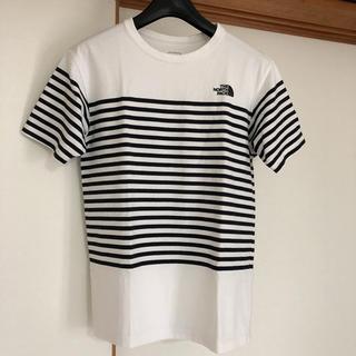 THE NORTH FACE - ノースフェイス Tシャツ ショートスリーブ セオアルファ ボーダーティー