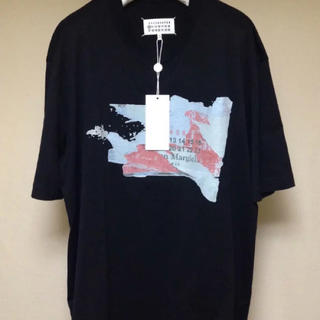 マルタンマルジェラ(Maison Martin Margiela)のマルジェラ Tシャツ デストロイタブ ブラック(Tシャツ/カットソー(半袖/袖なし))