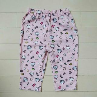 ハローキティ - サイズ100 ハローキティ ドラえもん ピンク スパッツ レギンス パンツ