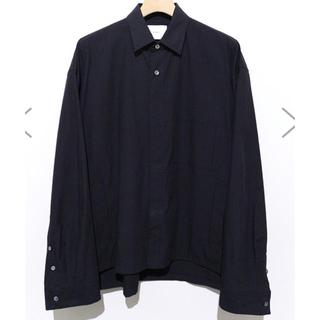 SUNSEA - stein シュタイン シャツジャケット ブラック 黒 S 新品未使用
