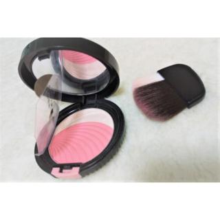 オーブクチュール(AUBE couture)のオーブクチュール ブラシチーク 01 ブラシひと塗り ピンク(チーク)