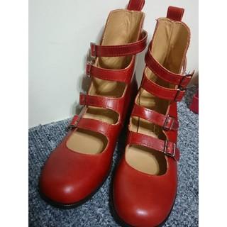 ジェーンマープル(JaneMarple)のジェーンマープル 4連ベルトシューズ Jane Marple(ローファー/革靴)