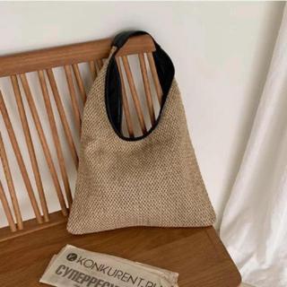 DEUXIEME CLASSE - 新商品 シンプル 夏素材 ハンドバッグ  トートバッグ