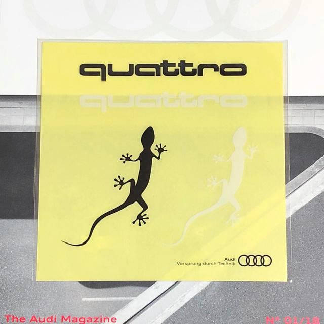 AUDI(アウディ)のアウディ Audi   クアトロ デカール 自動車/バイクの自動車(その他)の商品写真
