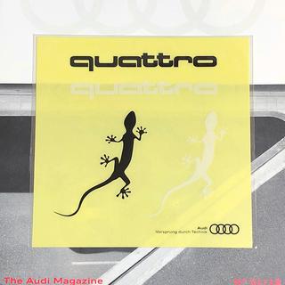 AUDI - アウディ Audi   クアトロ デカール