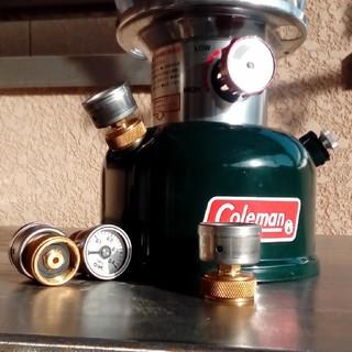 コールマン(Coleman)のマンボー様専用 ランタン用 圧力計フィラーキャップ2つ(ライト/ランタン)