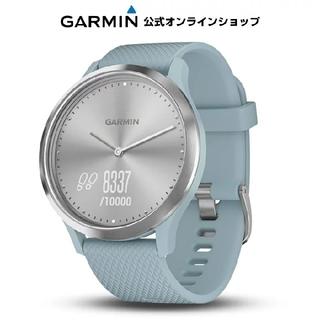 ガーミン(GARMIN)のGARMIN vivomove HR Sport Silver SeaFoam(トレーニング用品)