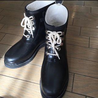 ジユウク(自由区)の自由区レインシューズ 黒/24cm(レインブーツ/長靴)