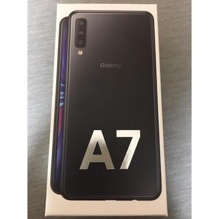 Galaxy - ギャラクシー Galaxy A7 ブラック 64GB SIMフリー