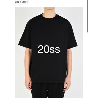 ラッドミュージシャン(LAD MUSICIAN)の20ss 無地 ビッグT 黒色(Tシャツ/カットソー(半袖/袖なし))