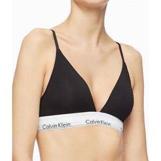 Calvin Klein - 【新品未使用】07 カルバンクライン  トライアングル ブラトップ ブラレット