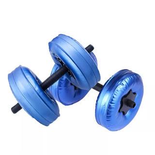 ウォーター ダンベル 水 筋トレ ダイエット エクササイズ トレーニング   (エクササイズ用品)