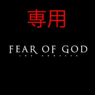 FEAR OF GOD - fear of GOD  5th インサイドアウト ヴィンテージブラック XL