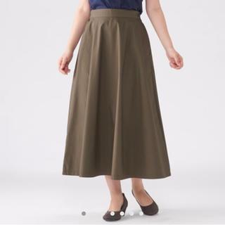 ムジルシリョウヒン(MUJI (無印良品))の無印良品 ロングフレアスカート(ロングスカート)