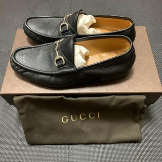 グッチ(Gucci)のGOCCI/グッチ/ローファー/レザー/ブラック(ドレス/ビジネス)