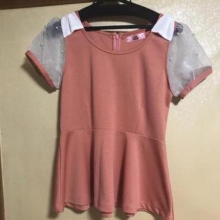 アンクルージュ(Ank Rouge)のAnk Rouge ペプラムTシャツ(Tシャツ(半袖/袖なし))