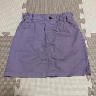 GU - GU スカート  110 パープル