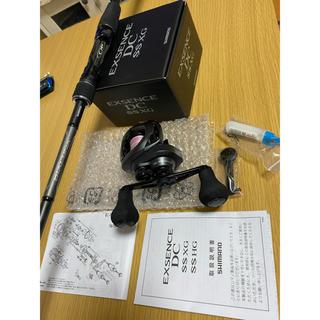 シマノ(SHIMANO)の20エクスセンスDCXGss ディアルーナB76MHセット(リール)