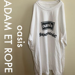 アダムエロぺ(Adam et Rope')のoasis ADAM ET ROPE  オアシス SUPERSONICカットソー(Tシャツ/カットソー(七分/長袖))