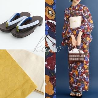 メルロー(merlot)の【merlot】フルーツ柄浴衣3点セット(浴衣+帯+下駄) 紺 メルロー(浴衣)