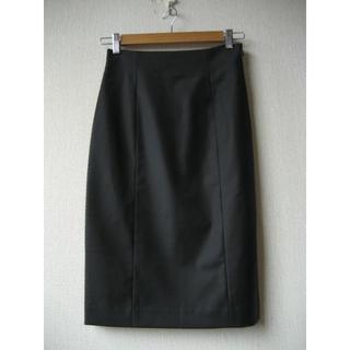セオリーリュクス(Theory luxe)のtheory luxe Executive スカート ブラック サイズ36(ひざ丈スカート)