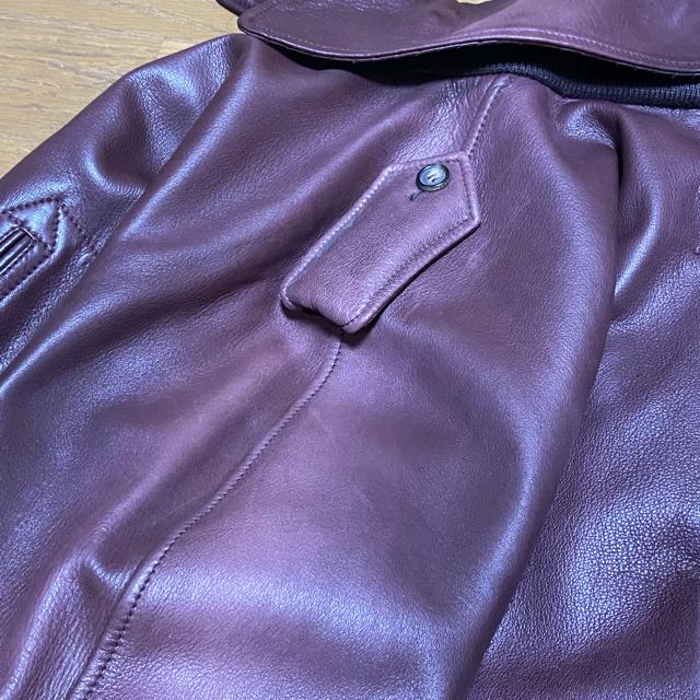 Gucci(グッチ)のグッチ GUCCI トムフォード コレクション レザー メンズのジャケット/アウター(レザージャケット)の商品写真